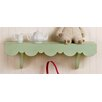 <strong>New Arrivals</strong> Scalloped Cottage Wall Shelf