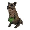 Raccoon Statue