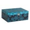 Mele & Co. Layla Floral Print Fashion Jewelry Box