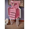 Mele & Co. Louisa Girl's Jewelry Armoire with Mirror