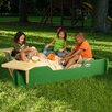 <strong>Square Sandbox with Cover</strong> by Sandlock Sandboxes
