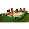 Sandlock Sandboxes 10' Rectangular Sandbox with Cover