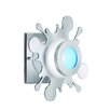 <strong>Splat 1 Light Flush Wall Sconce</strong> by CSL