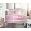 Oilo Sticks Solid Band Crib Skirt