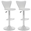 "<strong>dCOR design</strong> CorLiving 23.5"" Adjustable Bar Stool (Set of 2)"