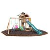 <strong>Playtime Swing Sets</strong> Auburn Hills Swing Set with Rubber Mulch