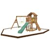 Playtime Swing Sets Eagle Point Swing Set with Play Zone Components