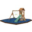 Playtime Swing Sets Riviera Swing Set with Rubber Mulch