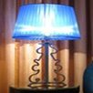 """Wemi Light Magenta Uno 38.96"""" H Table Lamp with Empire Shade"""