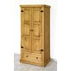 <strong>Windmill 1 Drawer Wardrobe</strong> by Home Essence