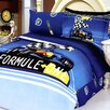 <strong>Formula 4 Piece Twin Duvet Cover Set</strong> by Le Vele