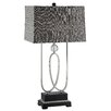 "Crestview Collection Manhattan Jacob's Twist 34.5"" H Table Lamp with Rectangular Shade"