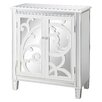 Crestview Collection La Salle Scroll Cabinet