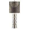 """Crestview Collection Transitions Rings 30.5"""" H Table Lamp with Drum Shade"""