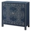 Crestview Collection Indigo Cabinet with Nailhead