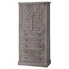 Crestview Collection Providence 5 Drawer Tall Cabinet