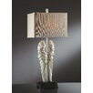 "Crestview Collection Manhattan Wings 32.5"" H Table Lamp with Rectangular Shade"