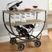 Crestview Collection Wine Rack Cart