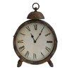 Crestview Collection Industria 2 Piece Aaron Table Clock Set