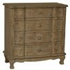Crestview Collection Windsor 4 Drawer Driftwood Chest