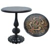 Crestview Collection Bennington Carved End Table