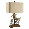 "Crestview Collection Turtle Bay 26"" H Table Lamp with Rectangle Shade"