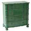 Crestview Collection Kelly Emerald 4 Drawer Accent Chest