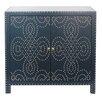 Crestview Collection Indigo Cabinet with Nailhead
