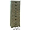 Crestview Collection Boulder Tall 9 Drawer Chest