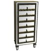 Crestview Collection Hollywood Mirrored Semainier