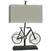"""Crestview Collection Wine Country Biking 26.5"""" H Table Lamp with Rectangular Shade"""