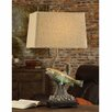 """Crestview Collection Trout Rising 29"""" H Table Lamp with Empire Shade"""