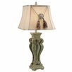 "Crestview Collection Brixtow 35"" H Table Lamp with Empire Shade"