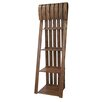 "Crestview Collection Deer Run Sled 72"" Bookcase"