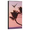 Wilson Studios Hawaiian Palm Tree Wall Clock