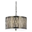 AF Lighting Candace Olson 3 Light Drum Pendant