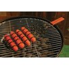 <strong>Charcoal Companion</strong> Non-Stick Adjustable Sausage Grilling Basket