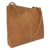 Piel Leather Fashion Avenue Medium Market Tote Bag