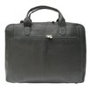 Piel Leather Slim Modern Portfolio Laptop Briefcase