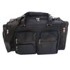 "<strong>Piel Leather</strong> 20"" Leather Carry-On Duffel with Pockets"
