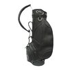 "Golf Deluxe 9"" Leather Golf Bag"