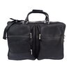 "<strong>Piel Leather</strong> Traveler 19.5"" Leather Complete Carry-All Travel Duffel"
