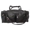 "<strong>Piel Leather</strong> Traveler 24"" Leather Travel Duffel with Pockets"