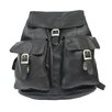 <strong>Piel Leather</strong> Adventurer Large Buckle Flap Backpack
