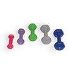 Cando Vinyl Coated Dumbbell with Wall Rack (Set of 10)