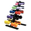 <strong>Cando</strong> Vinyl Coated Dumbbell with Floor Rack (Set of 20)