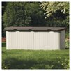 "Suncast 7'4"" W x 3' D Resin Tool Shed"