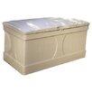 Suncast 99 Gallon Deck Box in Light Taupe