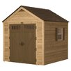 Suncast 8ft. W x 8ft. D American Wood Storage Shed