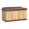 Suncast 120 Gallon Cedar Deck Box